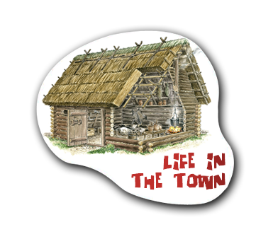 Educational posters - Life in the town